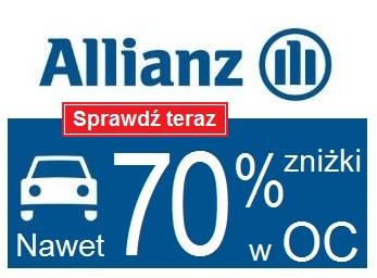 Najtańsze OC dla Doświadczonych Kierowców! -70% zniżki w OC