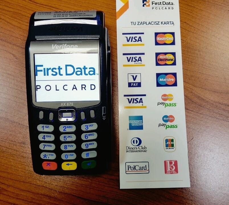 Płatność kartą w multiagencji ubezpieczeniowej PROMAX Ubezpieczenia. Akceptujemy karty płatnicze i płatności zbliżeniowe.