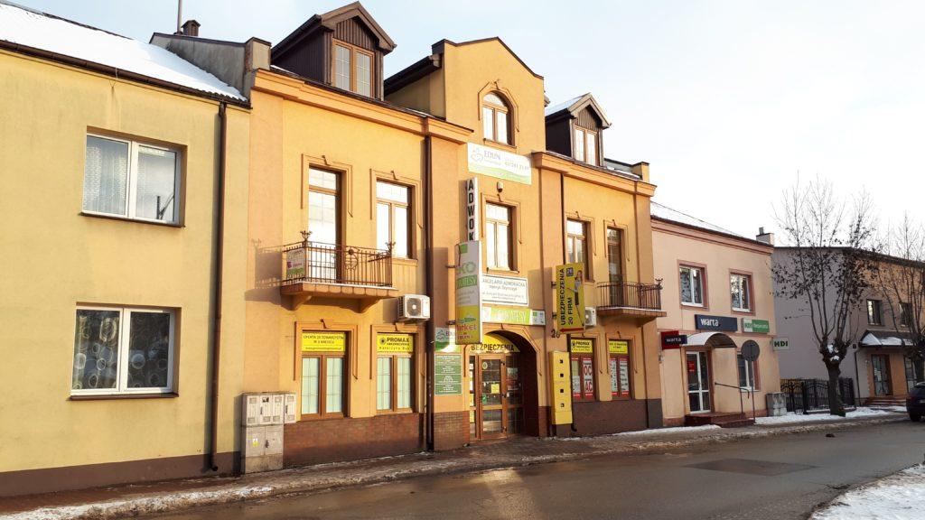 Budynek Iłżecka 26 w Ostrowcu Świętokrzyskim