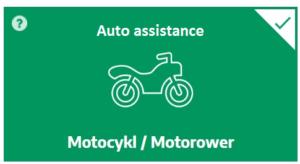 Auto assistance czyli holowanie w razie awarii i wypadku na Polskę i Europę dla motocykla lub motoroweru do 20 lat eksploatacji - kup teraz online