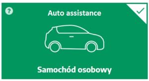 Auto assistance czyli holowanie w razie awarii i wypadku na Polskę i Europę dla pojazdu osobowego do 20 lat eksploatacji - kup teraz online