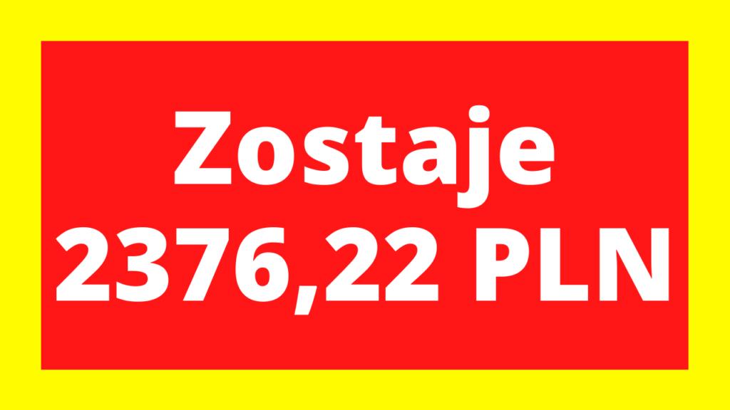 Kod pośrednika bezpieczny.pl zagwarantuje 2376,22 PLN