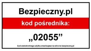 Kod pośrednika bezpieczny.pl da Ci 10% zniżki na ubezpieczenie na życie, ubezpieczenia szkolne, assistance dla pojazdu bez limitu wieku oraz na ubezpieczenie turystyczne w Polsce i na świecie