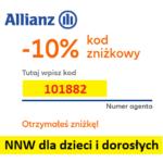 Kod zniżkowy Strefa NNW Allianz -10% to: 101882