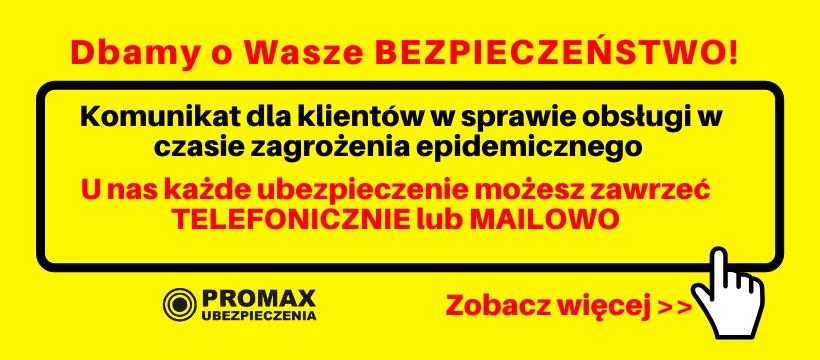 komunikat epidemia promax wznowienia - Strona główna