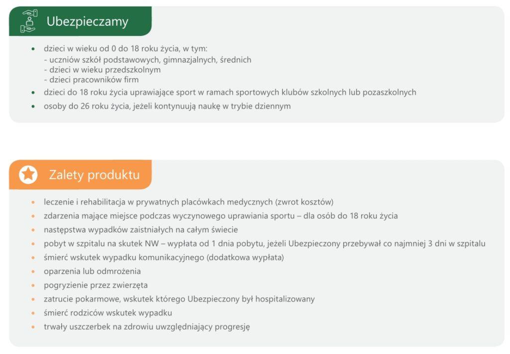 NNW szkolne w Genreali i Proama - poznaj zalety