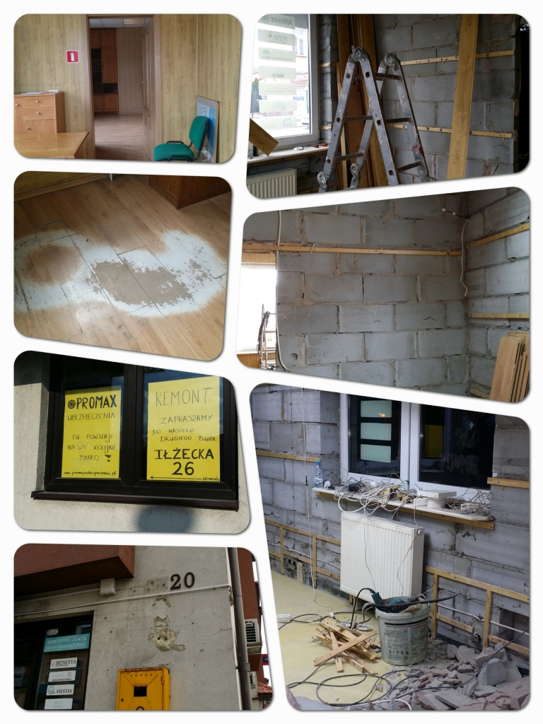promax remont1 768x1024 - PROMOCJA -70% zniżki w OC - świętuj z nami otwarcie drugiego biura w Ostrowcu!