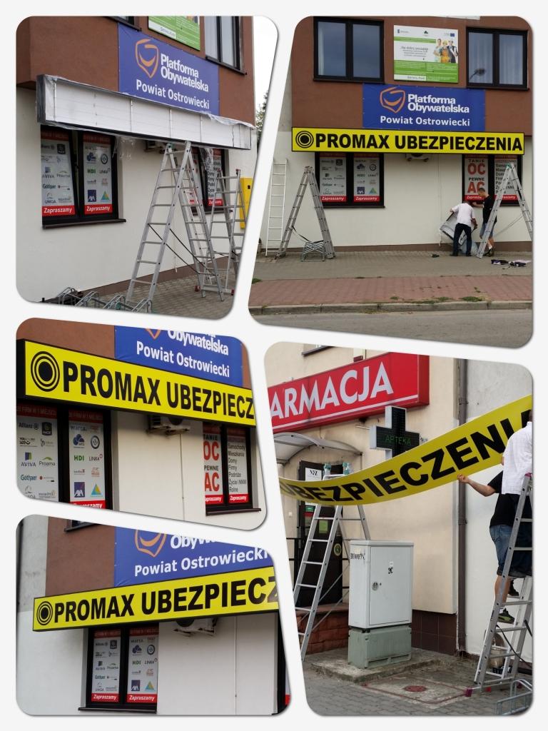 PROMAX Ubezpieczenia Katarzyna Bąk ul. Iłżecka 20 Ostrowiec Świętokrzyski najtańsze OC - 70% zniżki w OC