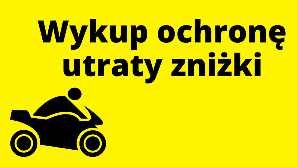 Rozszerz ubezpieczenie motocykla o ochronę utraty zniżki