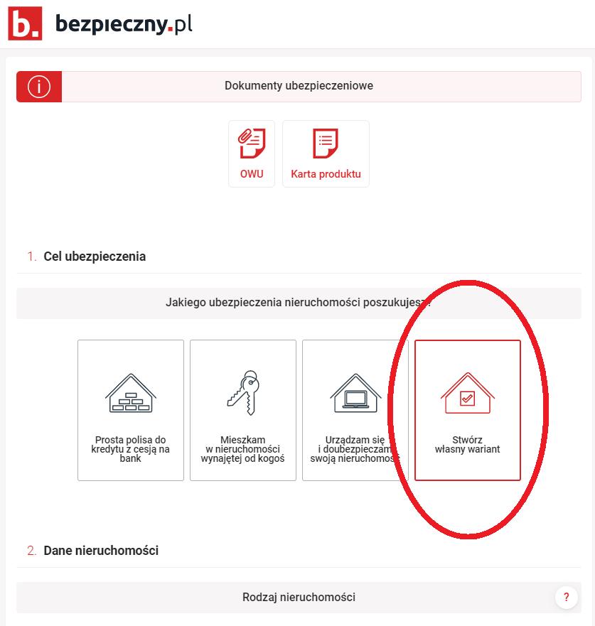 stworz wlasny wariant ubezpieczenia mieszkania - OC w życiu prywatnym