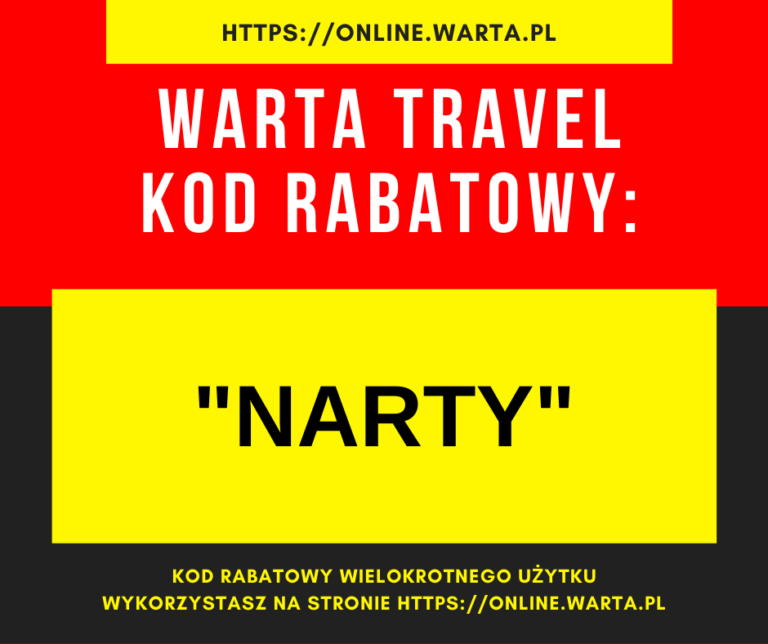 Ubezpieczenie na narty za granicą Warta Travel