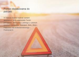 Warta moto assistance krótkoterminowy Podróznik 15 tylko dla klientów Warty i HDI