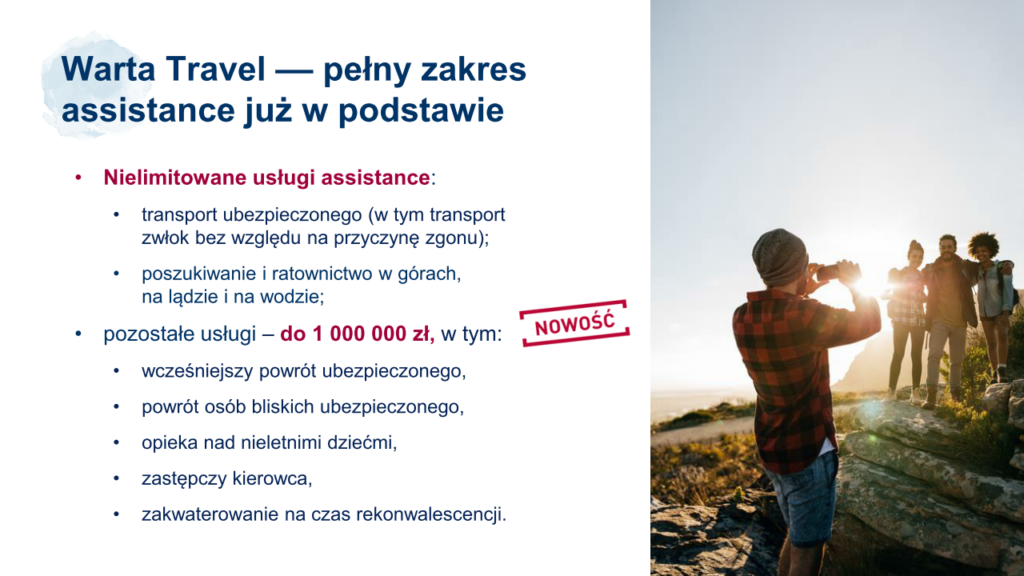 Warta Travel assistance - transport medyczny transport zwłok