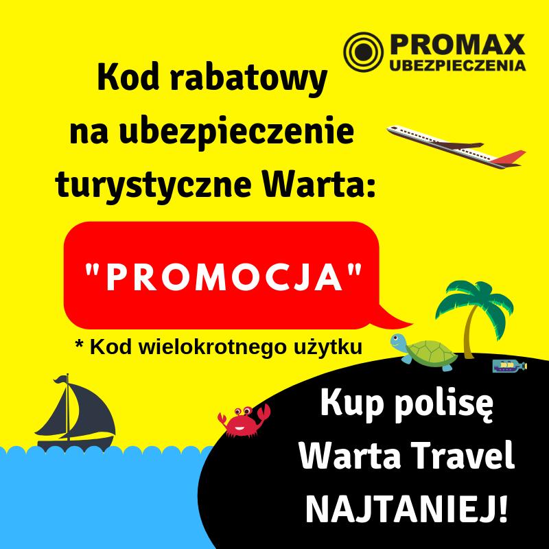 kod rabatowy Warta Travel PROMOCJA
